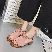 2018 sandalen in den mund von sommer fisch mit Rom mit flachem boden frauen  schuhe 70e294379d