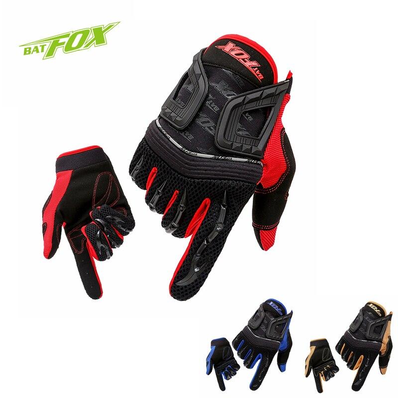 BATFOX Winter Men Bicycle Long Finger Gloves Touch Screen MTB Road Cycling Full Finger Gloves NonSlip Outdoor Sports Bike Gloves