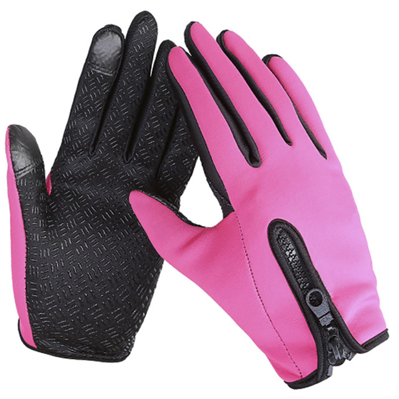 Waterproof Winter Warm Gloves Windproof Outdoor Bicycle Thick Warm Anti-slip Gloves Touch Screen Gloves