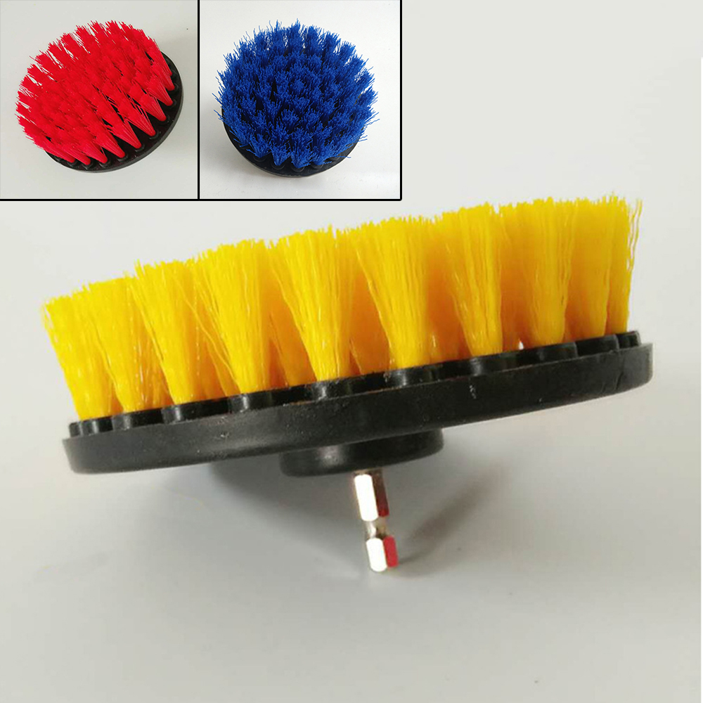 1Pcs 5 Inch Multifunction Cleaning Carpet Furniture Body Plastic Wire Drill Brush Cleaning Tools & Accessories