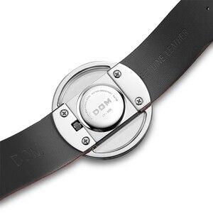 Image 4 - DOM Watch Women luxury Fashion Casual 30 m waterproof quartz watches genuine leather strap sport Ladies elegant wrist watch girl