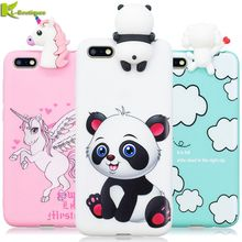 Y 5 2018 Case on for Huawei Y5 2018 Cover for Huawei Y5 Prime 2018 Fundas 3D Cute Silicone Dolls Toys Cartoon Soft Phone Cases