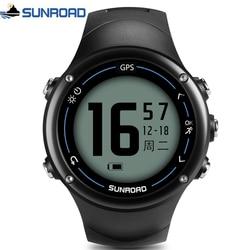 Relogio Masculino SUNROAD Digital GPS Sport Watch Men's Smart Bluetooth Heart Rate Monitor Calories Counter Pedometer Clock Men