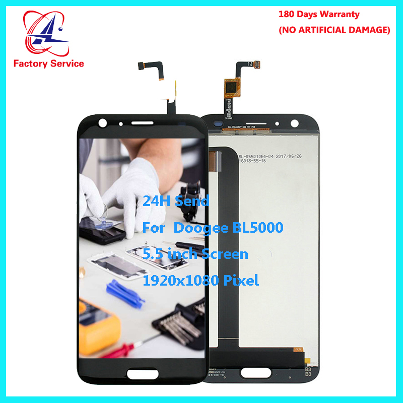 For Original Doogee BL5000 LCD Display+Touch Screen Screen Digitizer Assembly Replacement 5.5 inch 1920x1080P in Stock