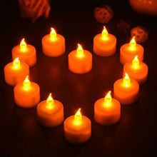 24PCS LED Tea Light Candles Householed vela led Battery-Powered Flameless Candles Church and Home Decor and Lighting Hot Sale