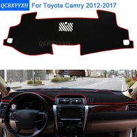 Car Styling Dashboard Protective Mat Shade Cushion Photophobism Pad Interior Carpet For Toyota Camry 2012 2017