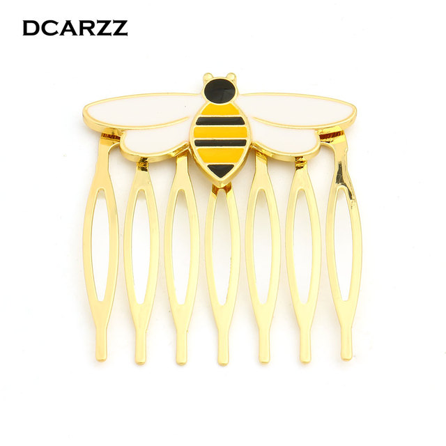 Bee Miraculous Queen Bee Hairwear,Gold Color Hair Comb for ...