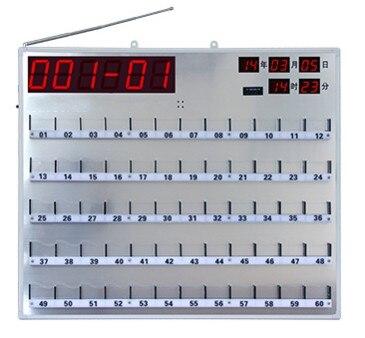 Ospedale senza fili ricevitore a bordo, infermiera sistema di chiamata campana display 3 cifre e il numero di letto, Senza Fili di Chiamata Paziente Buzzer