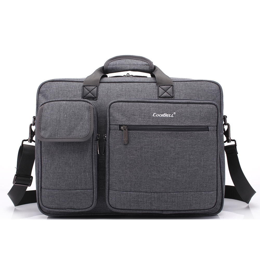 15 6 17 Inch Large Capacity Fashion Men Backpack Waterproof Travel Shoulder Bag Multifunctional Handbag Male