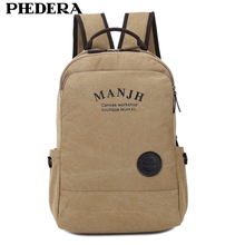 New High Quality Canvas Backpack Men Mochila Masculina Vintage Computer Backpack Preppy Style School Backpack Bags стоимость