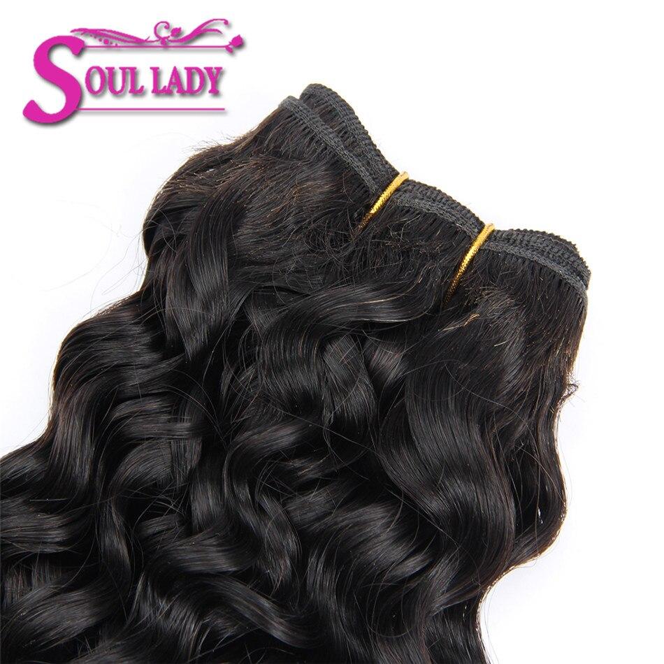 fecho 3 pacotes de cabelo humano com