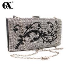 GX 2016 Diamant Abend Clutch Handtaschen Frauen Berühmte Marken für Frauen Umhängetasche Über Die Schulter Weiblichen Handtasche