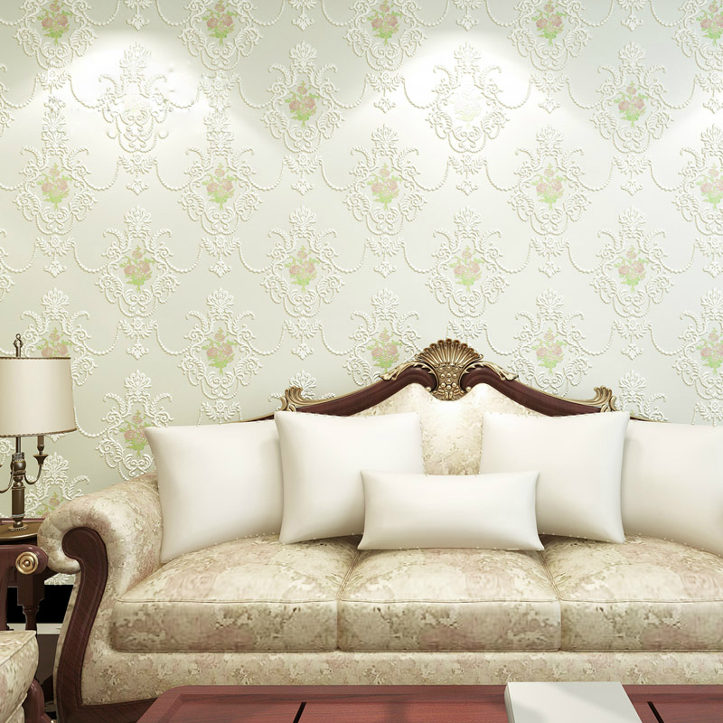 3D Floral Wallpapers Non Woven Bedroom Wall paper Roll Living Room Wallpaper for Walls Modern 3D Wallpaper Mural Wallcovering beibehang embossed american pastoral flowers wallpaper roll floral non woven wall paper wallpaper for walls 3 d living room