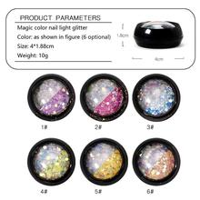 hot deal buy shiny nail sequins glitter tips uv gel nail art decoration colorful nail glitter powder dust manicure accessory ongles glitter
