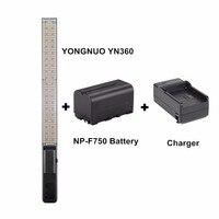 YONGNUO YN360 כף יד וידאו אור LED 3200 k 5500 k RGB צבעוני 39.5 ס