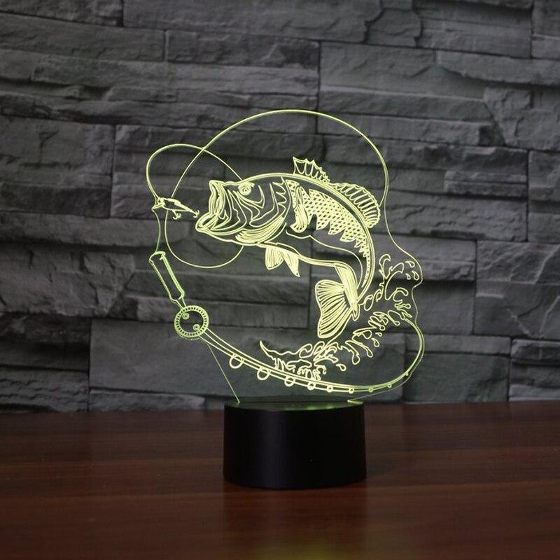 Luzes da Noite 7 mudando a cor do Tipo 3 : Lamps