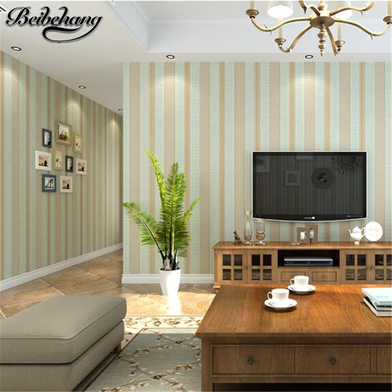 beibehang non - woven fabric simple American striped wallpaper bedroom living room background wall new Chinese ab wallpaper beibehang new children room wallpaper cartoon non woven striped wallpaper basketball football boy bedroom background wall paper