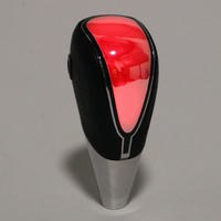 Auto Gear Stick Shift Knob Cover with LED Light Car Shift Knob Universal Car Automatic Gear Car-styling Touch Motion Activated