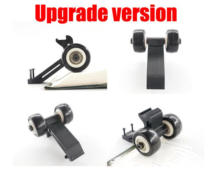 Free Shipping 2016 Newest Upgrade version 3D printed Rise head wheel for Traxxas TRX X-Maxx XMAXX stand up wheel free shipping traxxas trx x maxx xmaxx rc crawler car raise head tires rear stand up wheels anti roll over tyres spare parts