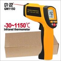 RZ Digital Handheld Gun Non Contact Infrared Thermometer Laser Pyrometer Professional Industrial Temperature Gun Ir Tester