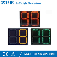 Traffic Light LED Countdown Timer 0 99s LED Count Down Timer Traffic Signal Timer 600mm 800mm