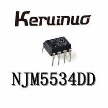 10PCS NJM5534DD NJM5534 5534DD DIP8 NEW ORIGINAL IN STOCK
