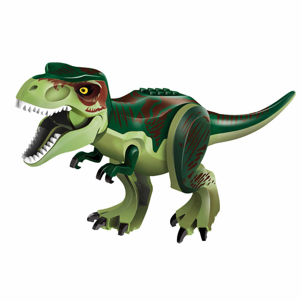 Del fumetto Dei Bambini Svegli Innovazione Blocchi di Istruzione Giocattoli Set di Dinosauro Figure Building Blocks Giocattoli Regalo Di Compleanno
