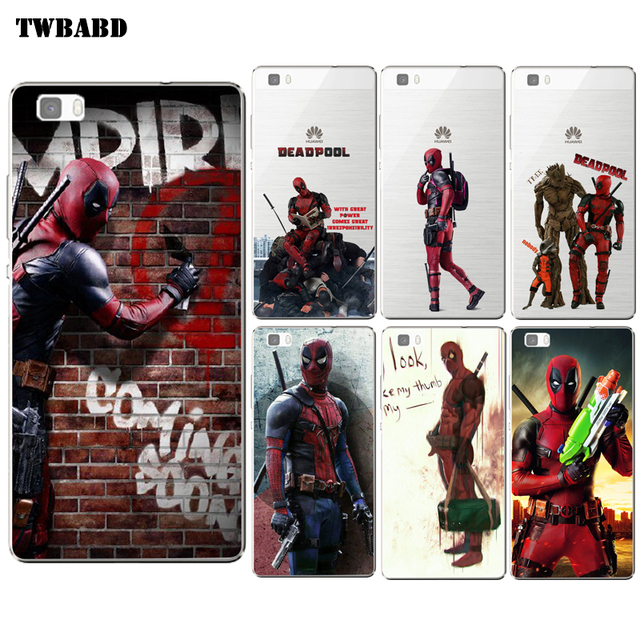coque deadpool huawei p10 lite