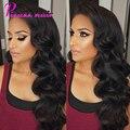 Pizazz Pelo Peruano Virgin Hair Body Wave Grado 7A Sin Procesar Pelo de la virgen 4 Bundles Gracia Empresa Pelo Peruano Suave Cuerpo onda