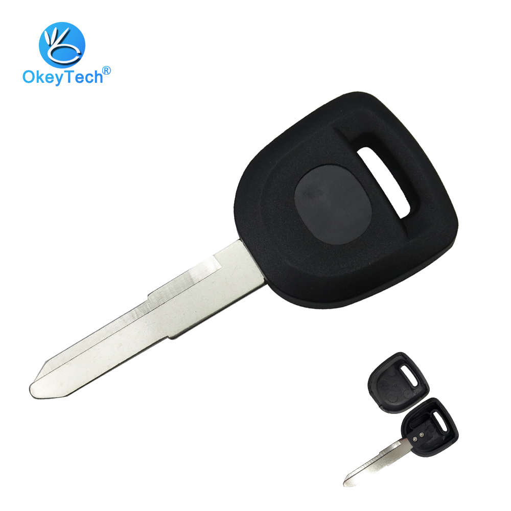 OkeyTech For Mazda Transponder Key Shell Uncut Blank Right Blade Cover Case Replacement Fob No Chip For Mazda 2 3 5 6 MX5 RX8
