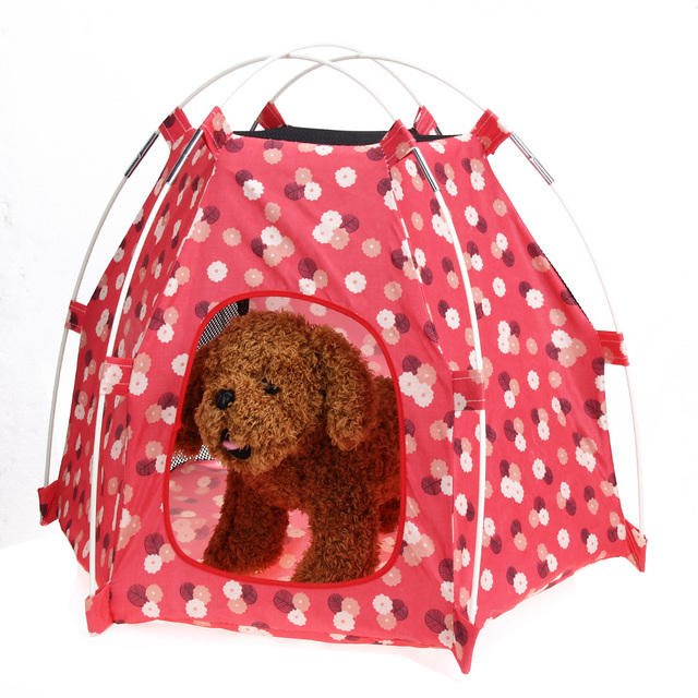 Breathable Oxford Print Pet Tent House Outdoor Indoor Cats Puppy Dog Kennel House for Small Medium  sc 1 st  AliExpress.com & Breathable Oxford Print Pet Tent House Outdoor Indoor Cats Puppy ...
