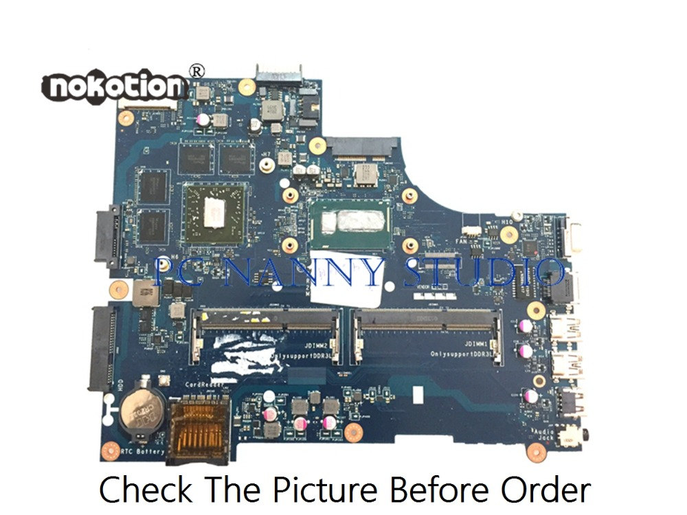 PANANNY LA-A491P for <font><b>Dell</b></font> <font><b>3540</b></font> V3540 laptop motherboard I7-4500 DDR3L tested image