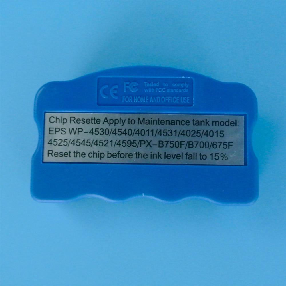 Prix pour T6710 T6711 puce resetter pour epson réservoir de maintenance puces WF-3520DWF WF-3540DTWF WF-3620DWF