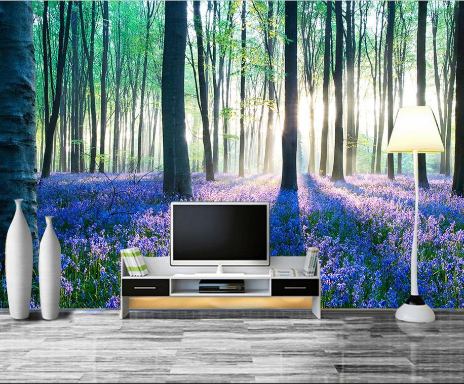 ᑐ3d stereoscopico personalizzato murale carta da parati moderna 3d ...