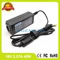 19V 2.37A 45W Ноутбук ac адаптер питания PA3822U-1ACA зарядное устройство для Toshiba Satellite CL45-C4330 CL45-C4370 S55-C5274 C40-C