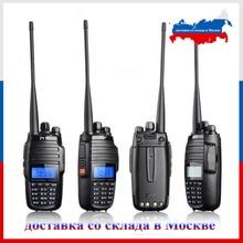 TYT TH UV8000D Walkie Talkie 10km VHF 136 174MHz UHF 400 520MHz Dual band ręczny szynki radio FM Transceiver Two Way Radio