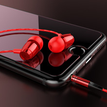 Sport Earphones with Mic 3.5mm In-Ear Wired Bass Earphone  Earpiece With Mic Stereo Earbuds Universal for iPhone Xiaomi цена в Москве и Питере