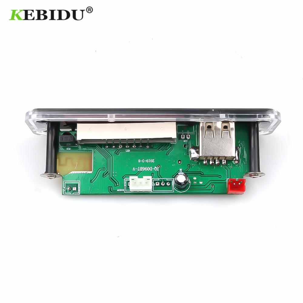 Mp3-player Kebidu Mp3 Player Dc 12 V 5 V Drahtlose Bluetooth Audio Modul Mp3 Wma Decoder Board Usb Fm Tf Radio Für Auto Mp3 Zubehör Neueste