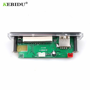 Image 2 - KEBIDU Wireless Bluetooth 5V 12V MP3 WMA Decoder Board Audio Module Support USB SD AUX FM Audio Radio Module For Car accessories