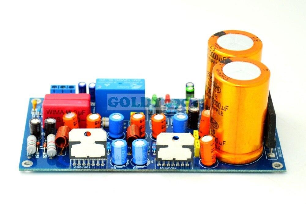 TDA7294/TDA7293 Dual Channel+ NE5532 Preamp Amplifier Board tda7294 lm3886 5 1 channel pure power amp board