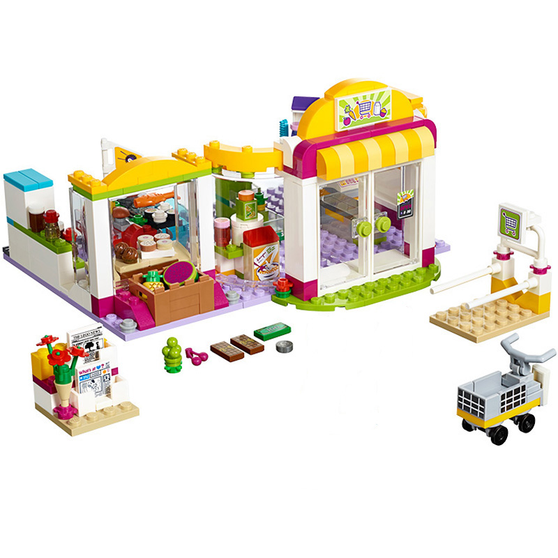 10494 Friends City Supermarket Building Bricks Blocks Sets Toy Compatible Lepine 41118 For Girl 10494 city supermarket building bricks blocks set girl toy compatible lepine friends 41118