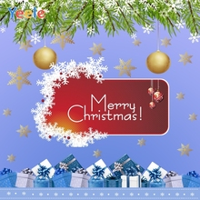 Yeele Christmas & New Year Family Party Decor Gifts Photography Backdrops Personalized Photographic Backgrounds For Photo Studio