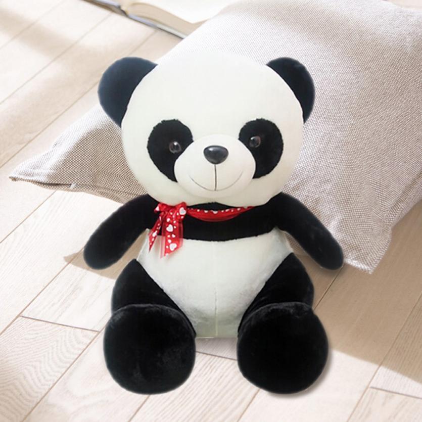 Chaude Nouveau En Peluche En Peluche Poupée Jouet Animal Mignon Panda Oreiller De Noël Cadeau 60 cm Dropship Y805