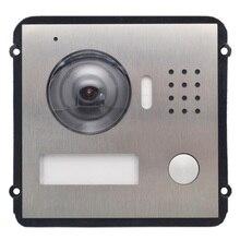 Многоязычный VTO2000A-C вилла IP модуль дверной звонок, видеодомофон, домофон, водонепроницаемость, облачная металлическая вилла наружная станция