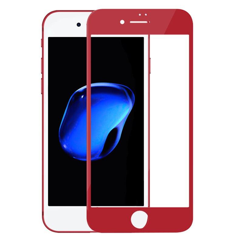 imágenes para 5.5 ''templado protector de pantalla de nillkin para el iphone 7 plus 3d totalmente cubierta protector de pantalla anti-explosión para iphone7 plus