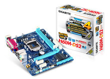 Original H61M-DS2  main board (H61/LGA 1155) all solid state + print port