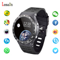 Lemado s99a moda bluetooth smart watch ritmo cardíaco gimnasio rastreador wifi gps reloj smartwatch para android ios
