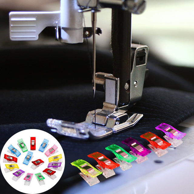 Useful Home Women Mini Hemming Clips For Crafts Pack Quilting Sewing