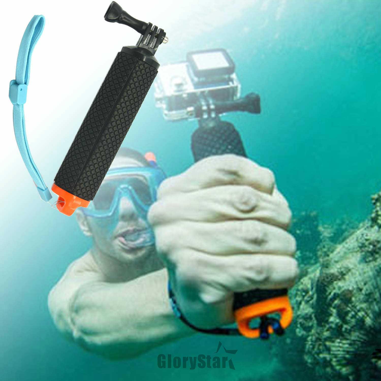 Поплавок ручной штатив с зажимом рукоятка-поплавок Pole Stick монопод для Gopro Go Pro Hero 5 4 3 Xiaomi Yi 2 4 K 4 K Экшн-камера
