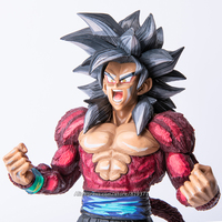 34cm Japan Anime Dragon Ball GT Collection Figure Super Saiyan 4 Son Goku Figurine Action Figure Toys Doll DragonBall Model